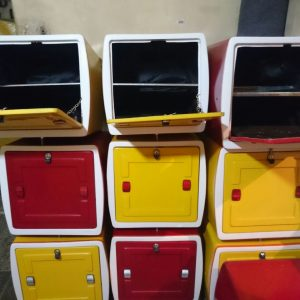 باکس مربعی فلزی | Metal box