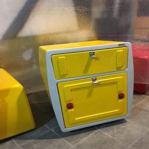 باکس مربع پلاس فایبرگلاس دو درب | Fiberglass Boxes